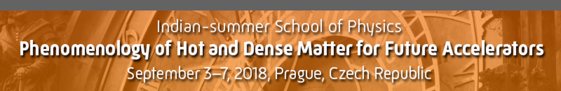 Indian-summer School of Physics 2018